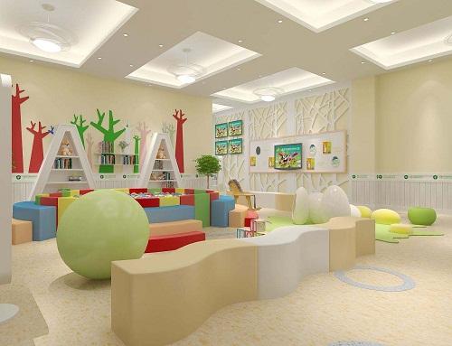 成都幼儿园装修,幼儿园3大活动区