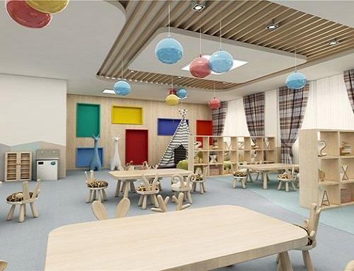 成都早教中心装修设计,如何突出品牌形象