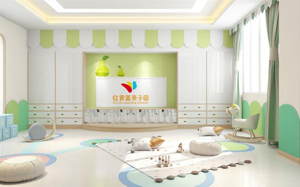 成都幼儿园装修 如何打造一个好的视觉效果