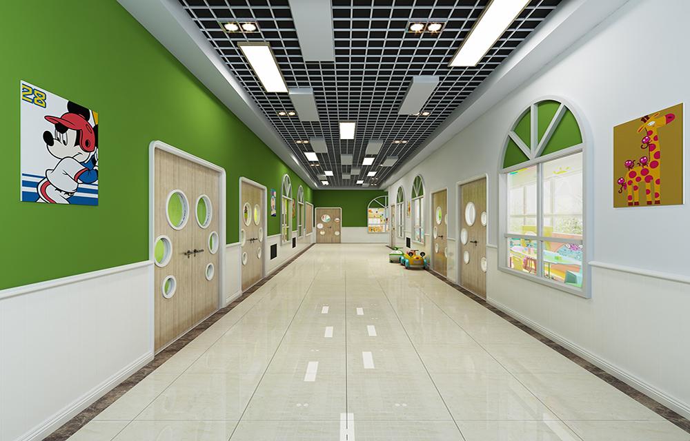 成都幼儿园设计 适合幼儿园的设计风格